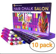 Multi Coloured Hair Chalks (Set of 10 Colours)