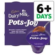 60% OFF Cadbury Pots of Joy Dairy Milk Desserts