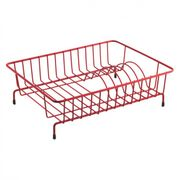Small Red Dish Drainer in Red