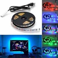 5050 USB LED RGB Strip Light 100 CM