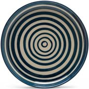 Hand Painted Striped Plate - Small