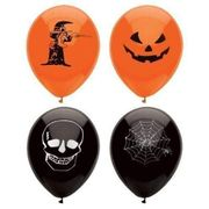 Halloween Balloons.