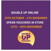 Sainsbury's DOUBLE up Has Begun! Get Your Vouchers Exchanged!
