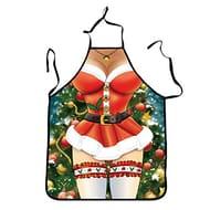 Sexy Santa Apron - £3.99 + Free Delivery (GREAT FUN SECRET SANTA PRESENT!)