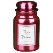 Village Candle Rain Blossom 26fl.Oz Metallic Jar Candle from Temptation Gifts