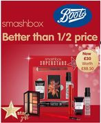 BOOTS Star Gift - Better than 1/2 Price Smashbox Limited Edition Superstars Set