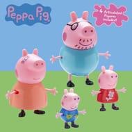 Peppa Pig Family (4 Figure Pack)