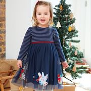Girls' Navy Robin Party Dress Only £28
