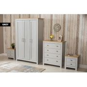 3pc or 4pc Bedroom Furniture Set - 2 Colours! from £249