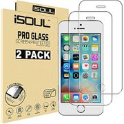 iSOUL [2 Pack] Screen Protector for iPhone 5 5S