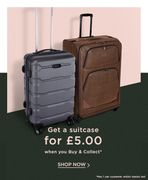 House of Fraser - £5 Suitcase!