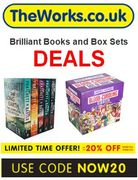 BRILLIANT Books & Box Set BARGAINS + EXTRA 25% OFF Code at The Works