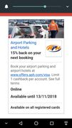 Airport Parking and Hotels 15% Back on Your next Booking