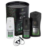 Lynx Africa Trio & Wireless Ear Phones Gift Set Free C&C