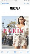 Up to 75% off at Miss Pap