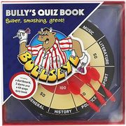 Bullseye Dartboard and Quiz Book Set £4.80 W/code at the Works (Free C+c)