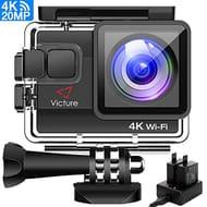 4K Action Camera Waterproof Cams Ultra HD 20MP WIFI 40M Underwater Camera