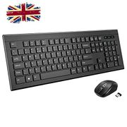 Wireless Keyboard and Mouse Set,