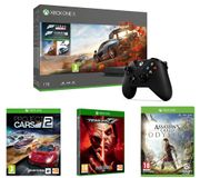 Xbox One X, Forza 4, Forza 7, Assassin's Creed, Tekken 7, Project Cars 2 Bundle