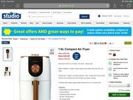 Air Fryer 1.6l Compact £24.99