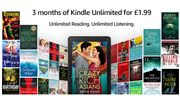 Amazon - 3 Months Kindle Unlimited for £1.99