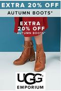 Ugg Boots - Extra 20% off Autumn Ugg Boots at Ugg Emporium
