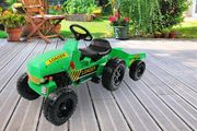 Kids Pedal Ride-on Tractor & Trailer