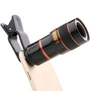 HD 8X Clip on Optical Zoom Telescope Camera Lens
