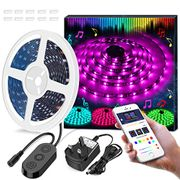 Up 60%Off LED Strip Lights LED 16.4Ft/5M Wireless Controlled by App