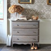 Camille Limewash Oak 3 Drawer Chest