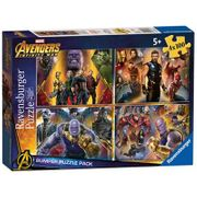 The Avengers - 'Marvel Avengers Infinity War' Set of 4 Bumper Pack Jigsaw Puzzle