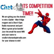 WIN a Spider - Man Fridge Magnet, Mousemat & Pen!