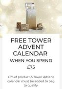 Free Yankee Candle Tower Advent Calendar (Worth £75) with a £75 Spend