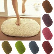 Home Doormat Bathroom Bedroom Floor Soft Non-Slip Shower Mat Rug Carpets