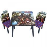Marvel Avengers Wooden Table & Chairs