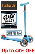 KIDS SCOOTER BLACK FRIDAY DEALS at HALFORDS - up to 44% Off