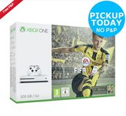 Microsoft Xbox One S 500GB Console with FIFA 17 Bundle- White Only £244.99