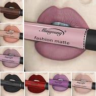 12 Colors Waterproof Lip Glosses Makeup Long Lasting Matte Lipstick