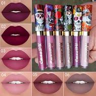 Makeup Matte Lips Gloss Cosmetic Long Lasting Vintage Style Soft Lip Liquid