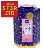 Nivea Gift Set (3 for £10)