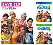 The Sims 4 - Save £25. Now £19.99 + FREE DELIVERY