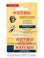Burt's Bees 100 Percent Natural Lip Balm, Beeswax and Vanilla Bean 4.25 G X 2