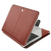 "MOSISO Premium PU Leather Sleeve Case for MacBook Pro 15"" with Touch Bar"