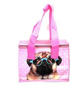 Fish around Woven Cool Bag Lunch Box - Jack Evans Pink Pug from Amazon