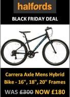 Carrera Deals → Top 5 Cheap Carrera Bikes for Sale UK