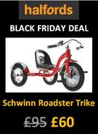 HALFORDS BLACK FRIDAY DEAL: Schwinn Roadster Trike ***4.7 STARS*** (AGE 3-5)