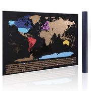Scratch off World Map Travel Map Poster