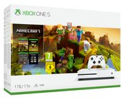 Xbox One S 1TB Minecraft Creator Console Only £199.99