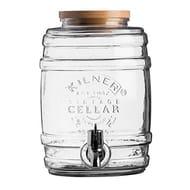 Kilner Drinks Dispenser, Clear/Transparent, 5 Litre Barrel