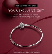 Spend £125.00 and Get Bangle Free